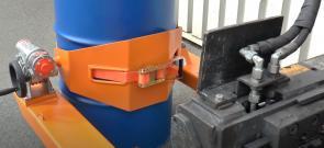 Универсальный кантователь для бочек и мусорных баков КБ